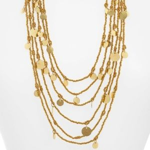 AREA STARS Caryn Multistrand Necklace